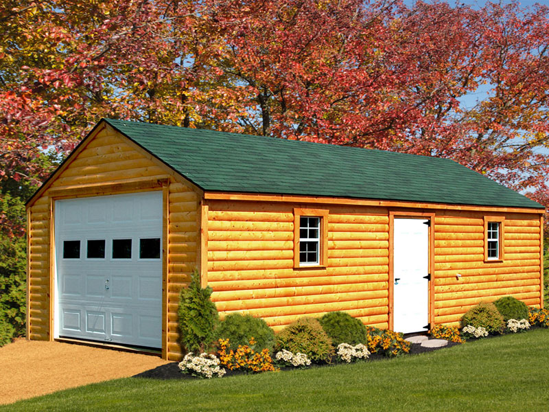 Garages - Amish Built Structures
